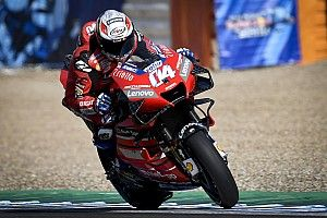 """Dovizioso warns Ducati """"has to make a step"""" despite podium"""