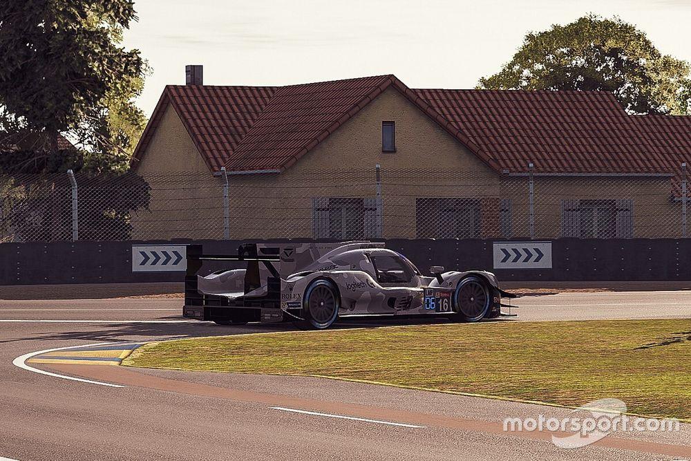 Virtual Le Mans 24h: Veloce battles Verstappen after Hour 8