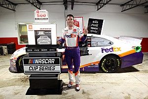 Hamlin claims win in wild Darlington race cut short by rain