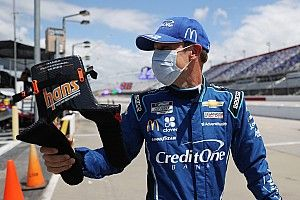 """Kenseth proud of top-10 finish after """"nerve-wracking"""" start"""