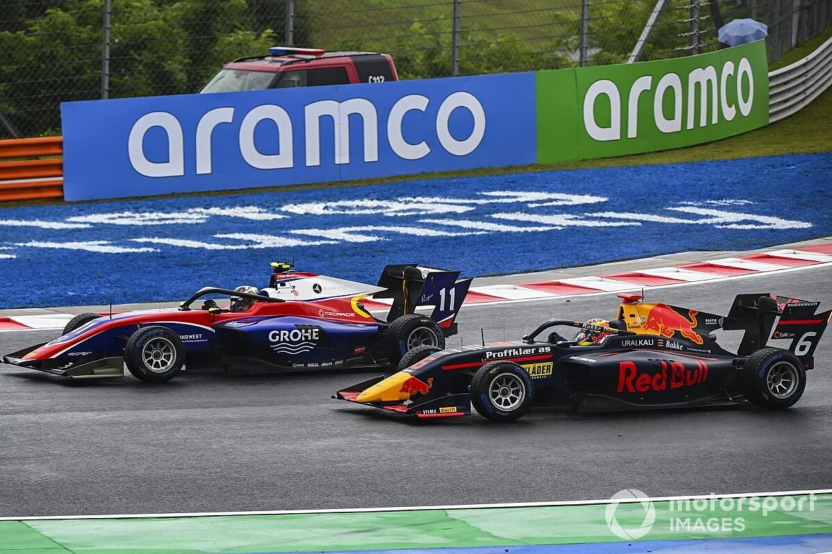 F3ブダペスト・レース2:ベックマン優勝。トップフィニッシュのビスカール、ペナルティに泣く