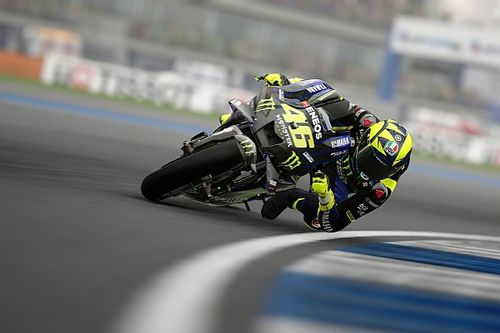 MotoGP virtual: Rossi vuelve a las carreras, el domingo en Misano