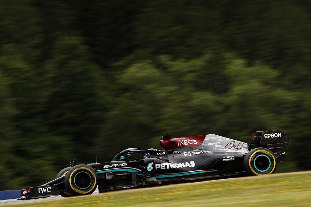 Mercedes Belum Mampu Tutup Gap dengan Red Bull