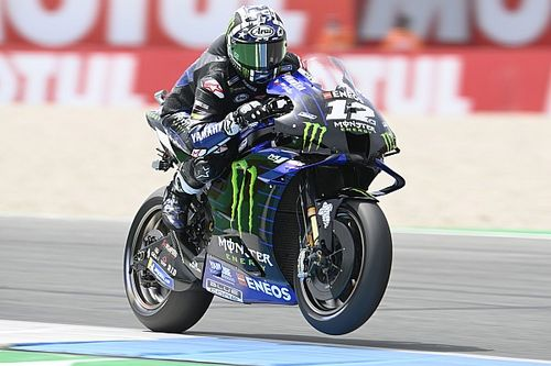 Vinales rode same bike to Assen pole as he did in Germany