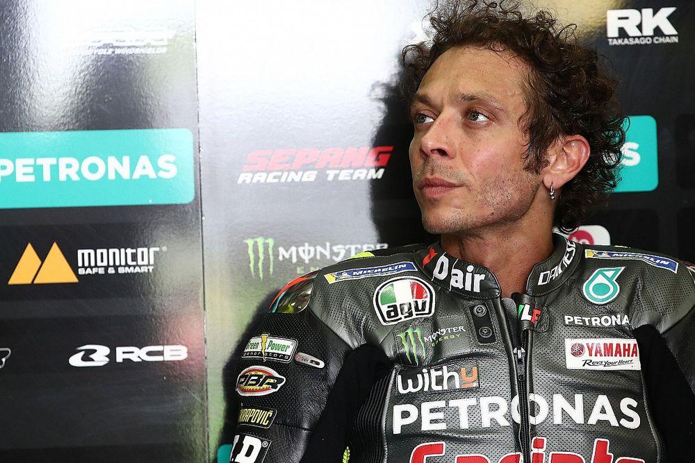 """MotoGP - Rossi: """"Provavelmente não pilotarei pela VR46 no próximo ano"""""""