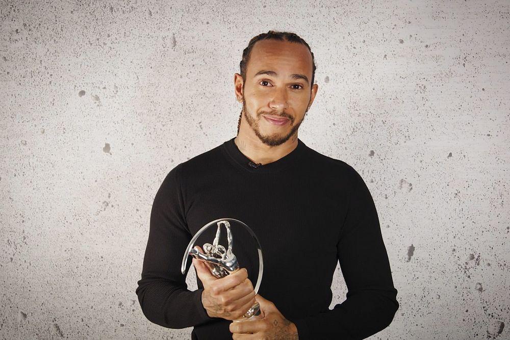 Hamilton wins third Laureus Award for social activism