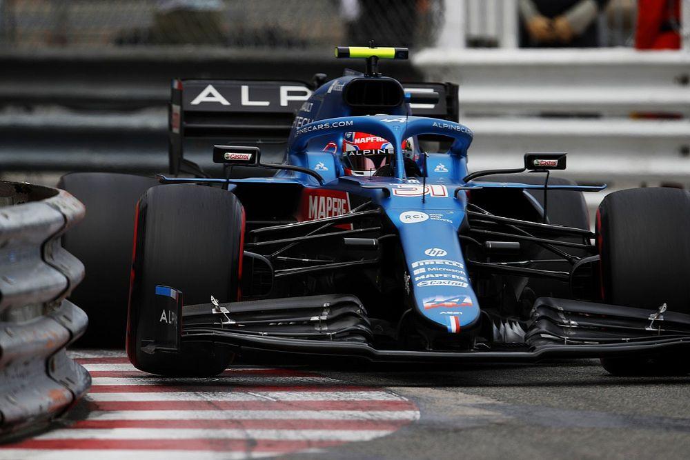 """El doloroso GP de Mónaco, """"un traspiés"""" en la progresión de Alpine F1"""