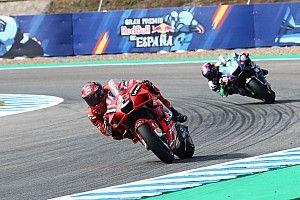 Spanish MotoGP: Bagnaia quickest in FP2 ahead of Quartararo