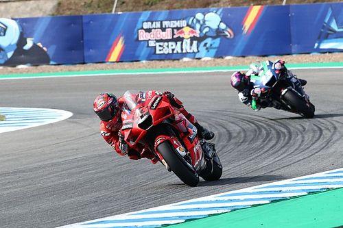 MotoGP: Bagnaia supera Quartararo no TL2 e é o mais rápido do dia em Jerez; Márquez é 16º