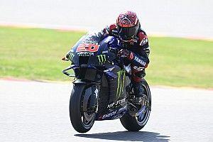 Hasil Warm Up MotoGP Jerman: Quartararo Tercepat, Aleix Espargaro Crash