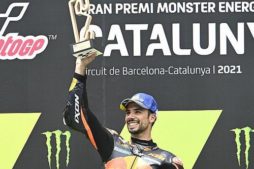 """Oliveira a dû se battre : """"C'était difficile de rester sur la moto"""""""