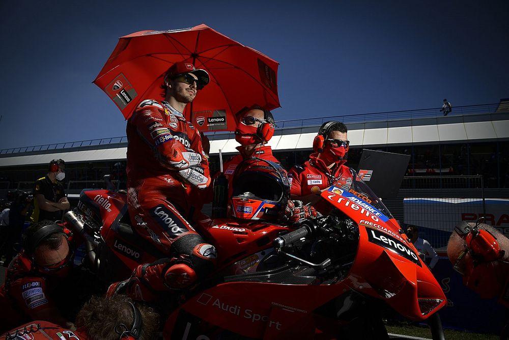 Bagnaia plus confiant que jamais avant le GP de France