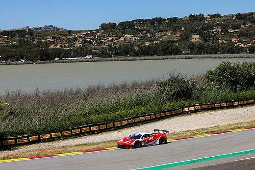 GT Italiano, Pergusa, Libere 3: bel colpo per Ferrari-Kessel