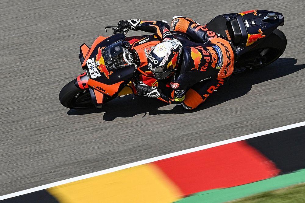 MotoGP Sachsenring FT2: KTM-Bestzeit vor Yamaha - Rossi nach Sturz Vorletzter