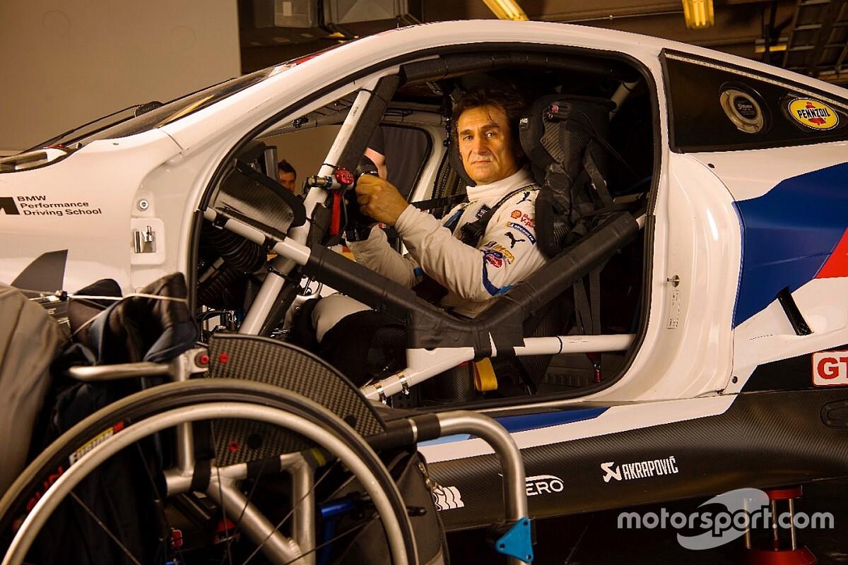 VÍDEO: Zanardi treina troca de pilotos em Daytona