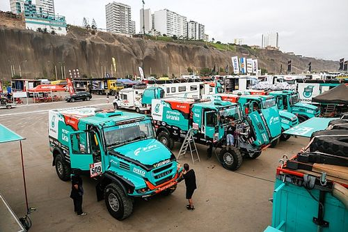 Iveco shadows Kamaz as Dakar kicks off for trucks