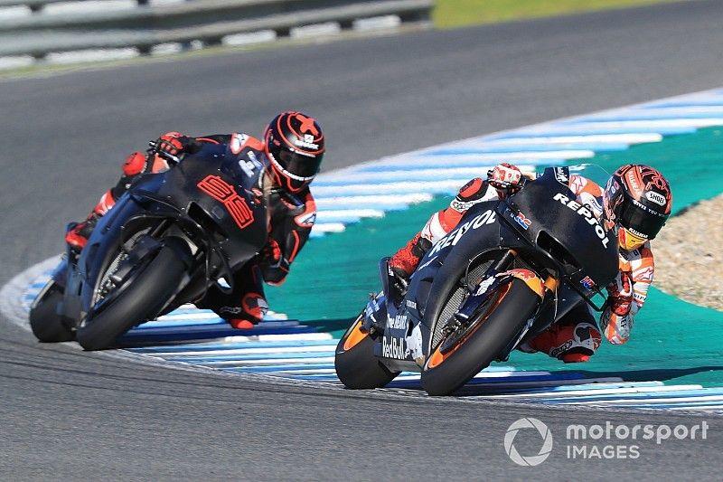 Honda-Test in Jerez: Lorenzo nimmt Fahrt auf, Puzzlespiel geht weiter