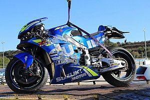 Suzuki: Fortschritte beim neuen Motor, Rookie Mir schüttelt Sturz ab