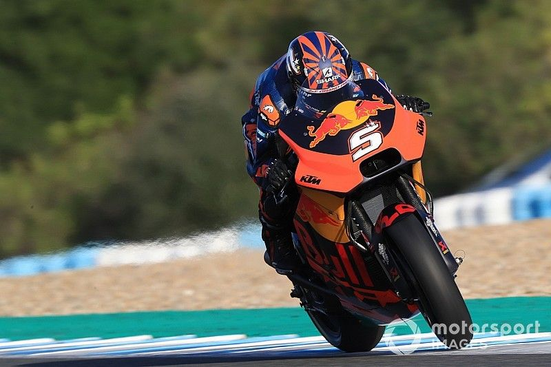 """Zarco """"more in control"""" during second KTM test"""