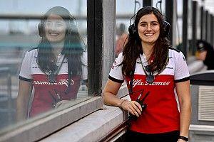 Tatiana Calderón poursuit sa collaboration avec Alfa Romeo