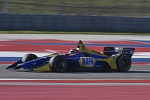 Rossi thrilled by IndyCar at Circuit of The Americas