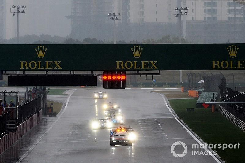 Shanghai WEC race halted due to heavy rain