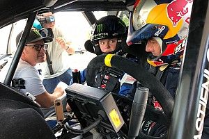 Loeb tutors Solberg's son in two-day test