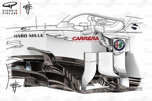 Formel-1-Technik: Wie Sauber das Mittelfeld aufmischte