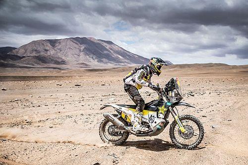 Quintanilla regresa a la pelea por el Dakar tras la octava etapa