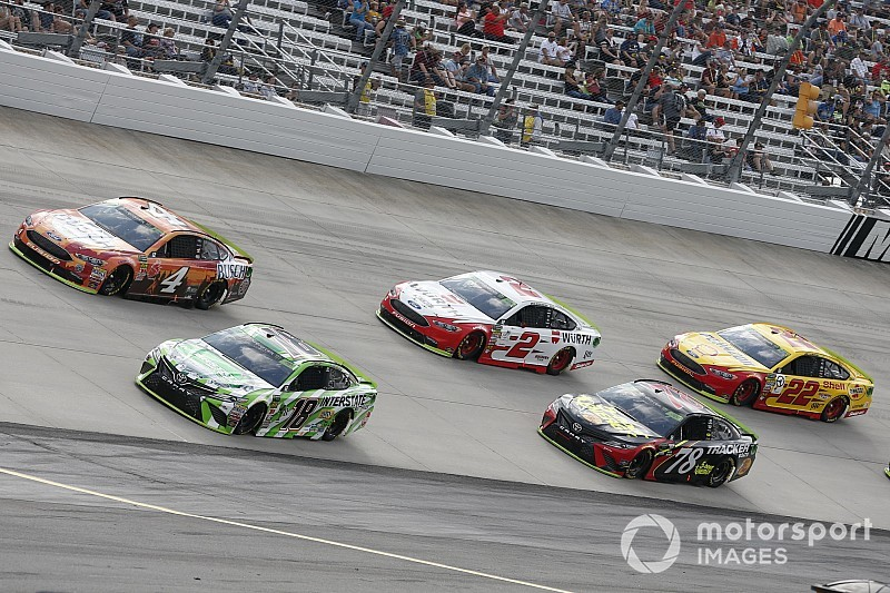 "Kevin Harvick: ""I'd rather win"" and ""don't really care about points"""