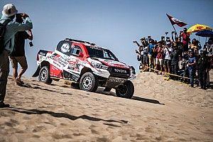 """Dakar, Toyota si gode il successo: """"Un lavoro perfetto. E Al-Attiyah ha vinto senza aria condizionata!"""""""