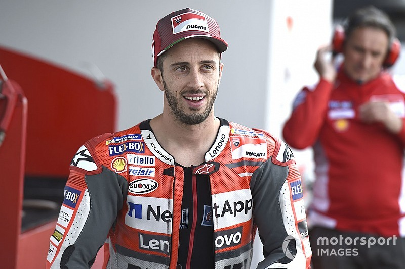 MotoGP Malezya 1. antrenman: Dovizioso lider, Lorenzo sorun yaşadı
