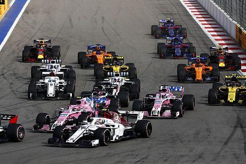 """Perez looft Leclerc: """"Heb hem alleen in eerste ronde gezien"""""""