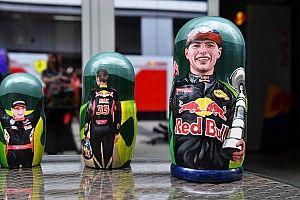 """Verstappen elegido """"piloto del día"""" en Sochi"""