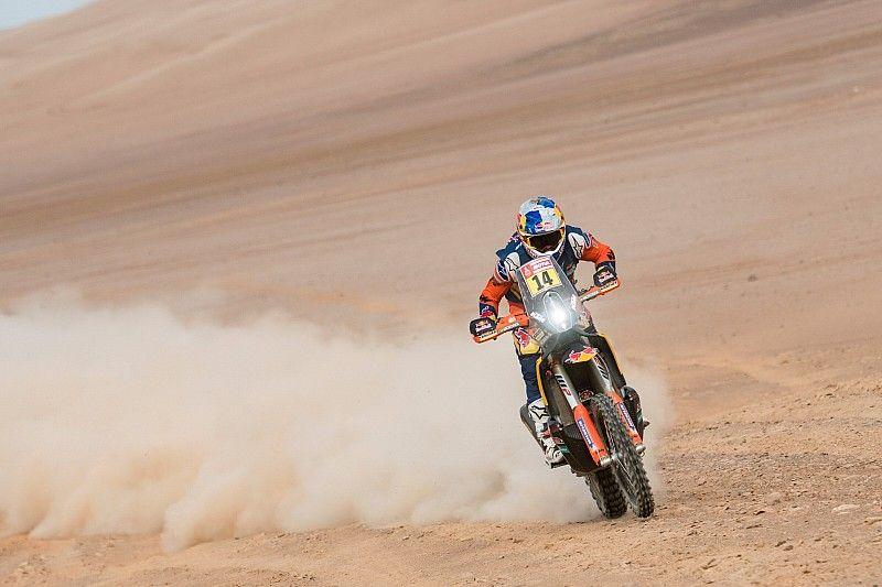 Sunderland gana la quinta etapa del Dakar 2019