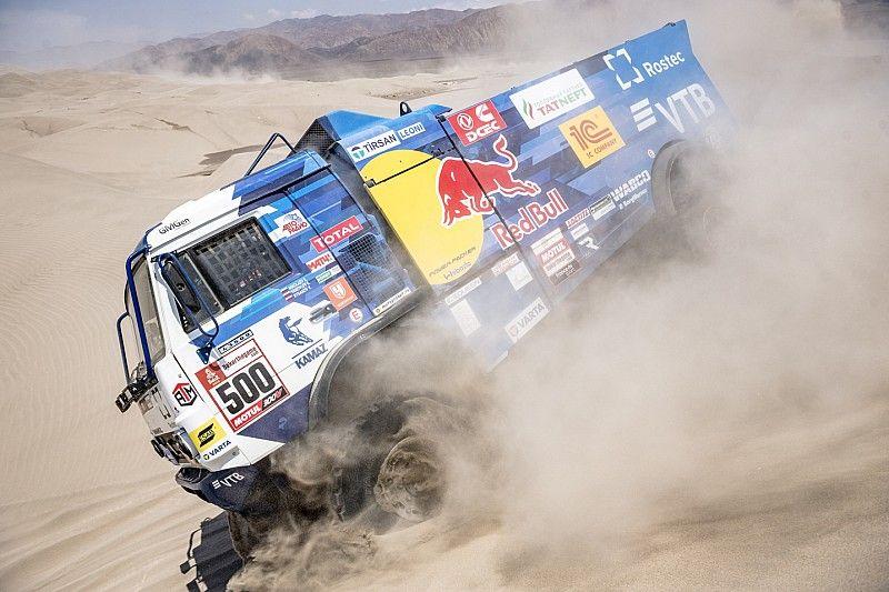 Nikolaev recupera el liderato y va camino de su cuarto Dakar