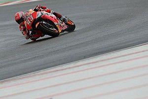 Marquez tersungkur saat kualifikasi MotoGP Valencia