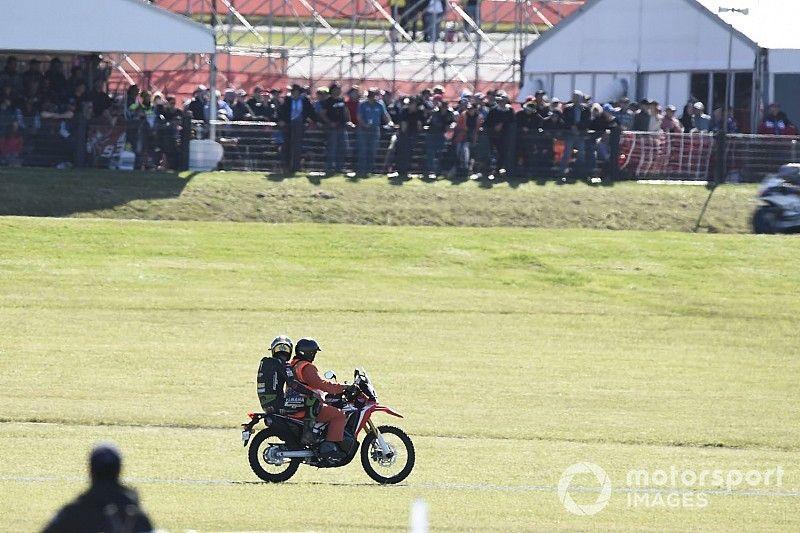 "Zarco: ""Pasé mucho miedo porque llegamos a más de 300 km/h"""