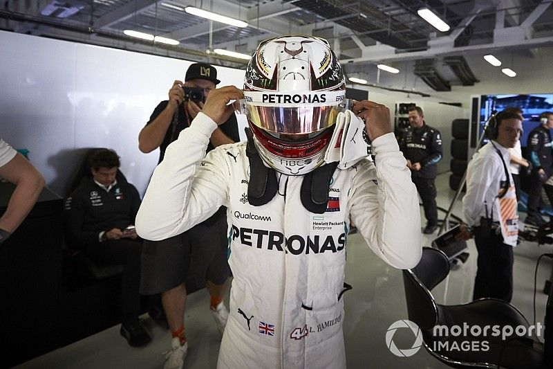 Lewis Hamilton Champion du monde 2018!