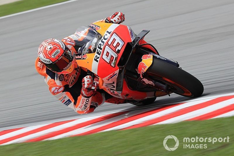 Marquez heer en meester in kwalificatie GP van Maleisië