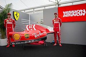 Ferrari komt met aangepaste livery voor Grand Prix van Japan