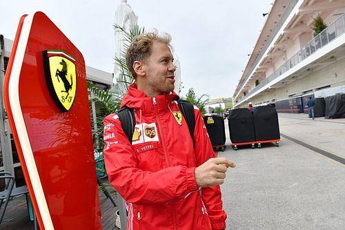 Vettel não desiste e quer Ferrari com ritmo em Austin