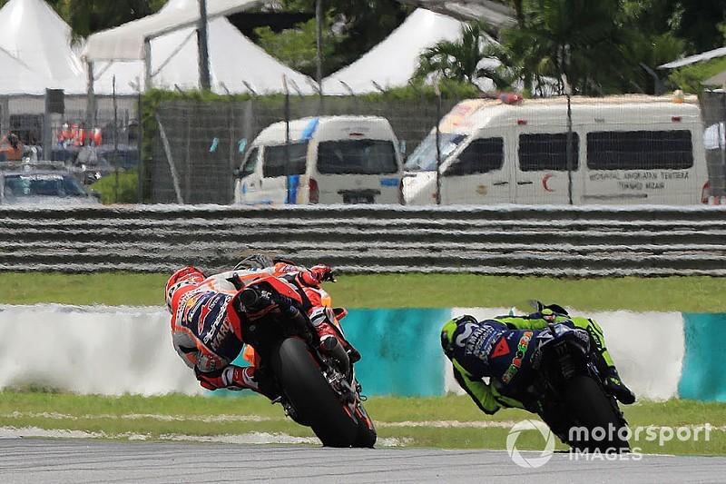 À la poursuite de Rossi, Márquez a pensé aux événements de 2015