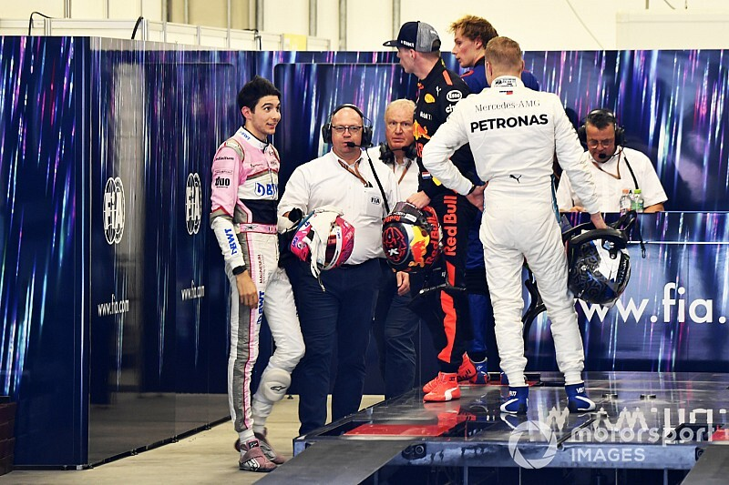 La FIA n'ira pas plus loin entre Verstappen et Ocon