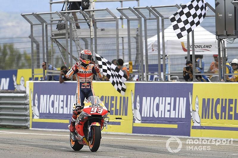 Course - Márquez en contrôle, les Ducati survoltées!