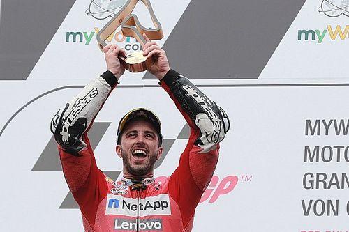 Salah satu kemenangan terbaik Dovizioso