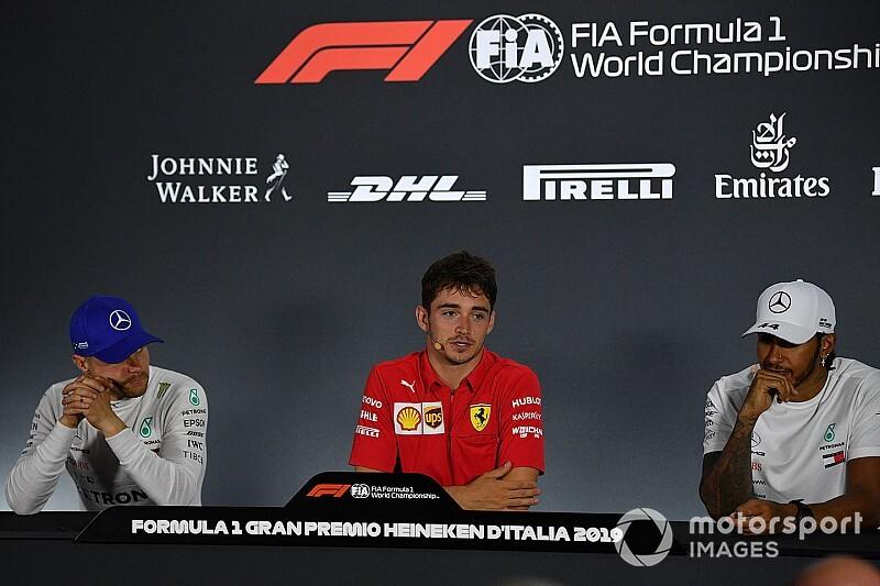Leclerc Monza után agresszív Hamiltont vár, és beszélne a bírákkal