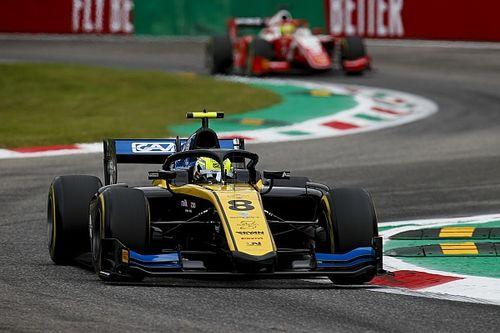 Monza F2: Ghiotto leads de Vries in practice