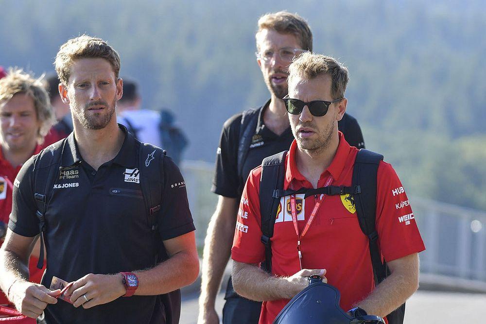 Haas no planea una oferta para Vettel