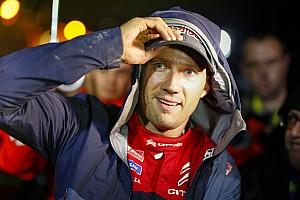 Ogier explique sa décision de quitter Citroën
